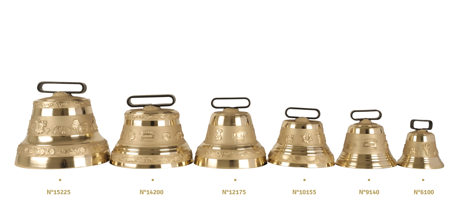 Cow-bell with buckle